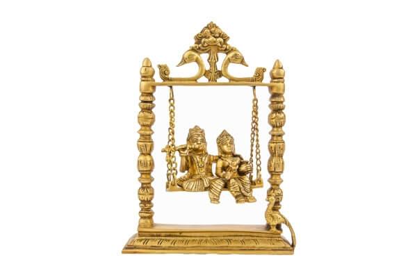 Radha Krishna with Jula