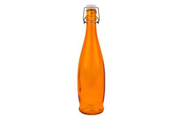 Orange Drinking Bottle