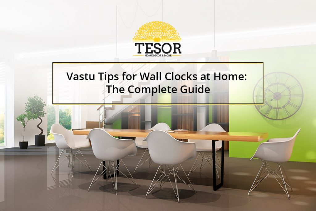Wall clock Vastu direction