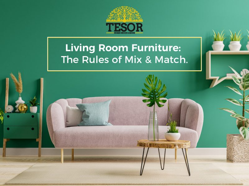 how to match living room furniture